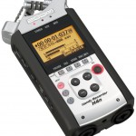 Digitalrekorder als zweites Mikrofon im Studio