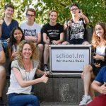Presse: school.fm an der AES in Langen