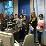 Workshop für Lehrer und Schüler im Hessischen Rundfunk