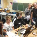 Workshop an der Mittelpunktschule Gadernheim