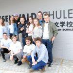 Youtube-Stars zum Interview in der Hessenwaldschule