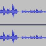 Audacity: Lautstärke eines Audios anpassen